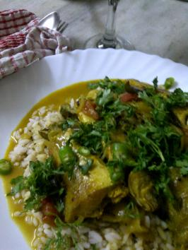 Fish Curry, The Kooky Way